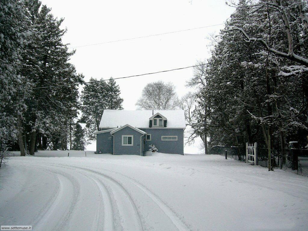Foto desktop di neve e paesaggi innevati 046