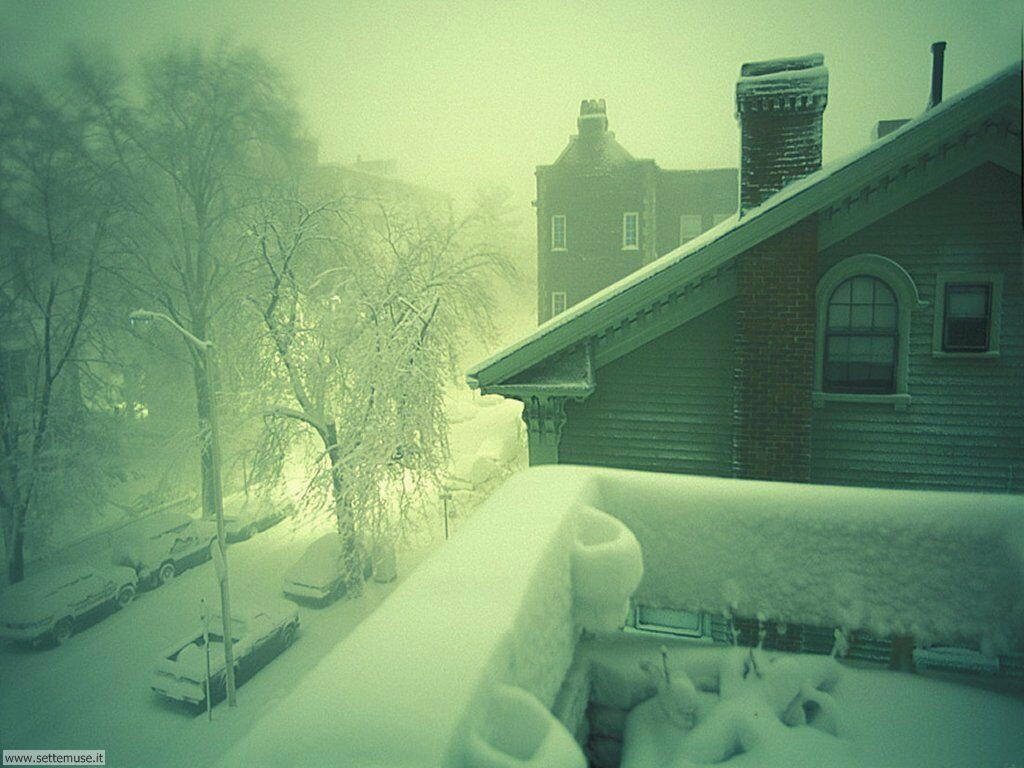 Foto desktop di neve e paesaggi innevati 050