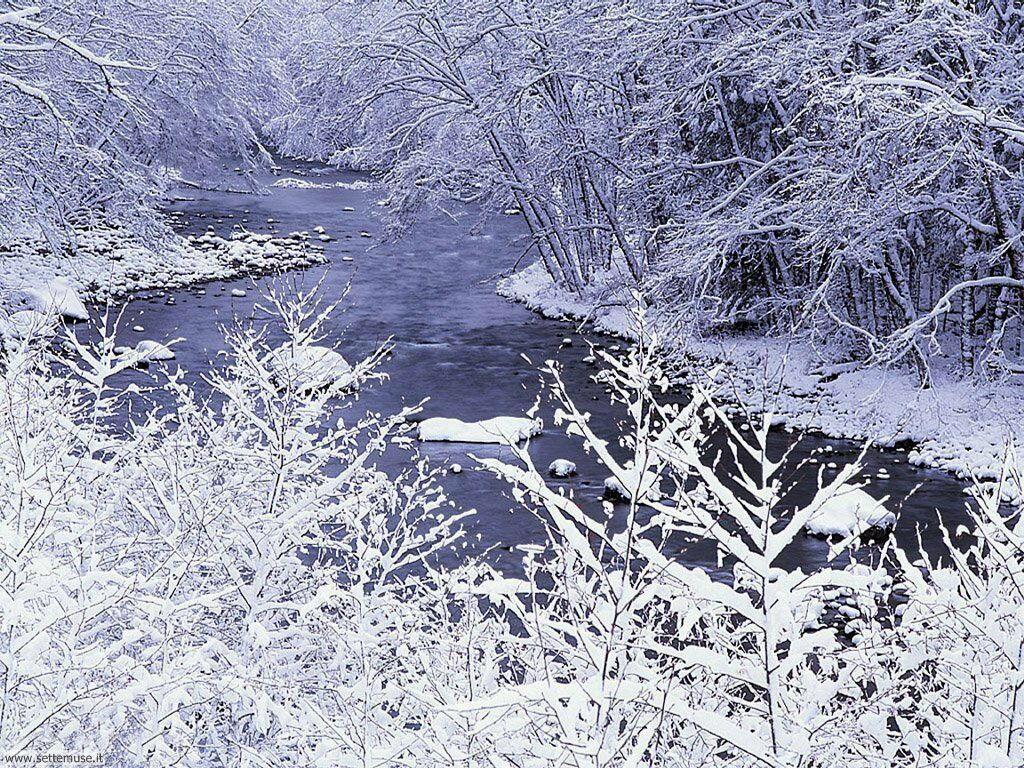 Foto desktop di neve e paesaggi innevati 060