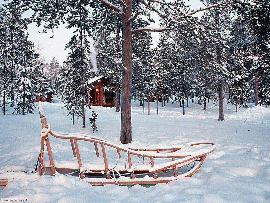 Foto desktop di neve e paesaggi innevati 062