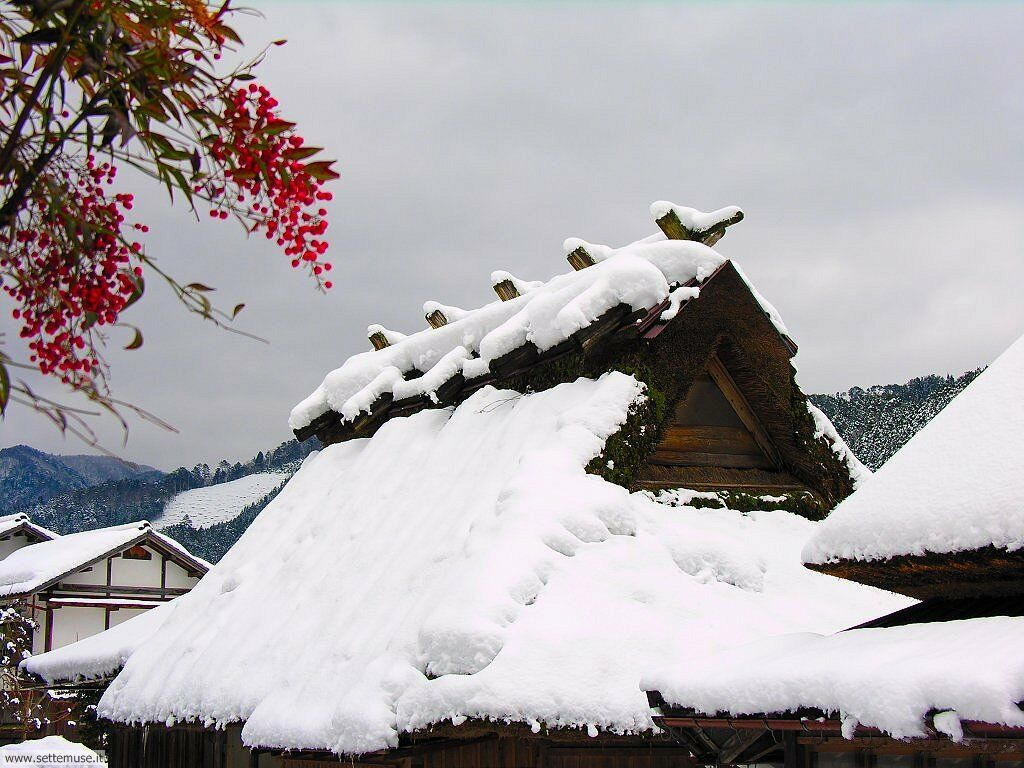 Foto desktop di neve e paesaggi innevati 065