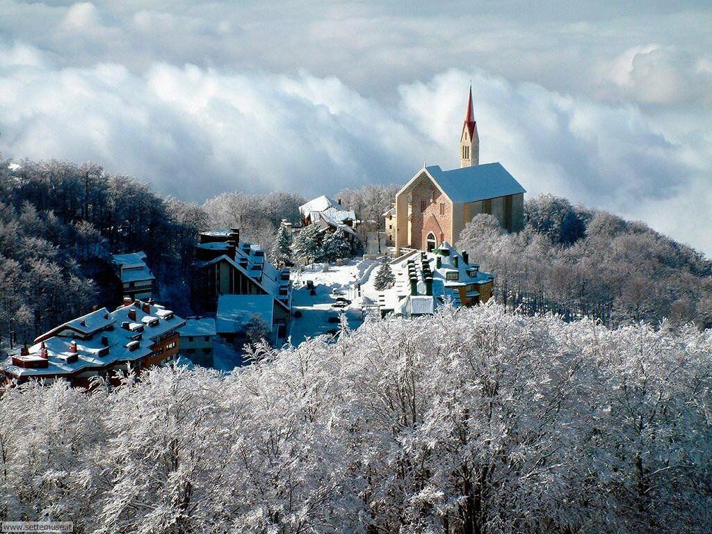 Foto desktop di neve e paesaggi innevati 066