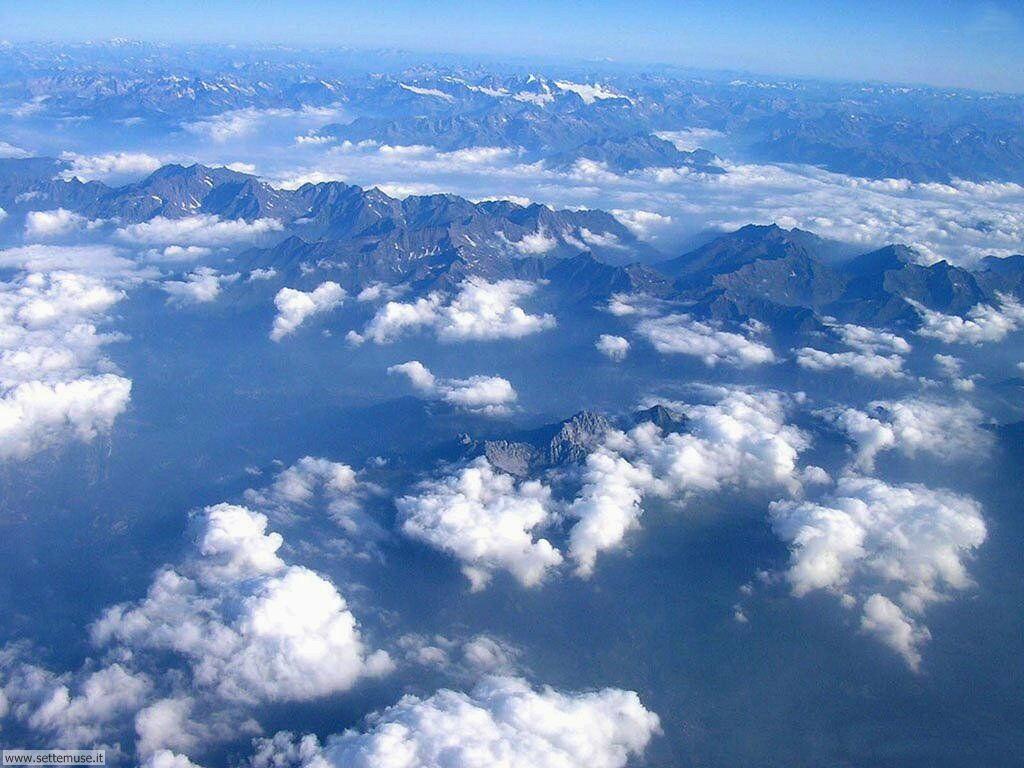 Foto desktop di panorami dall'aereo 001