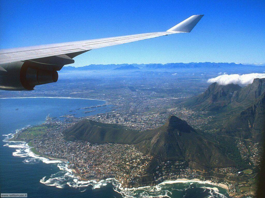 Foto desktop di panorami dall'aereo 004