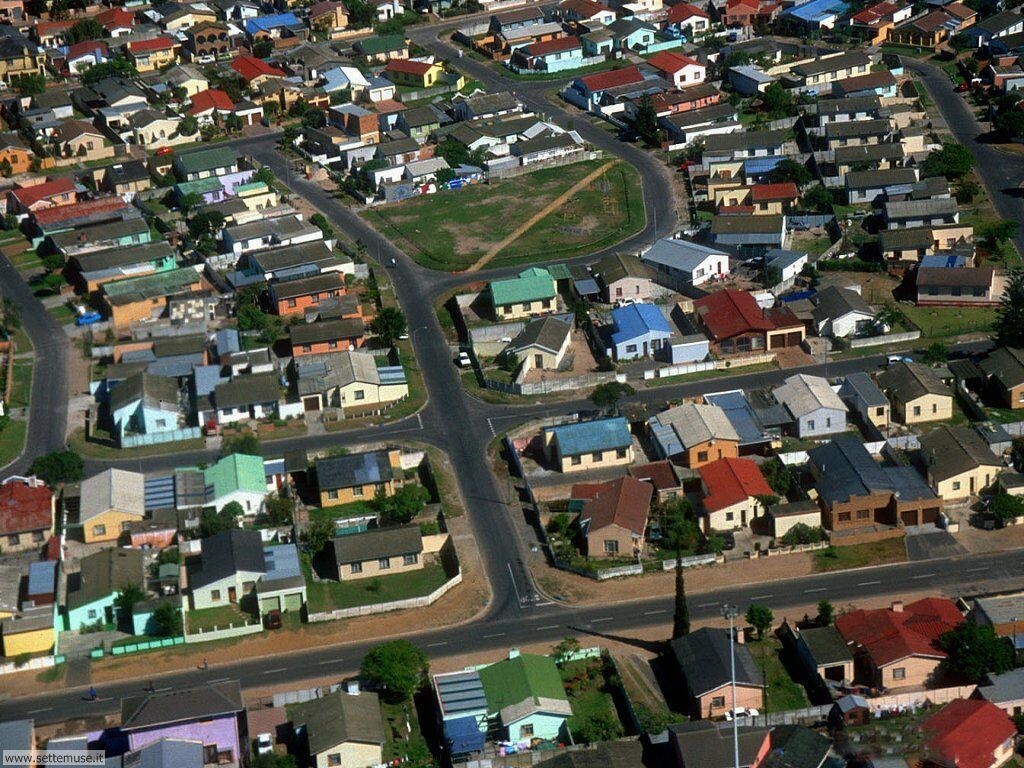 Foto desktop di panorami dall'aereo 007