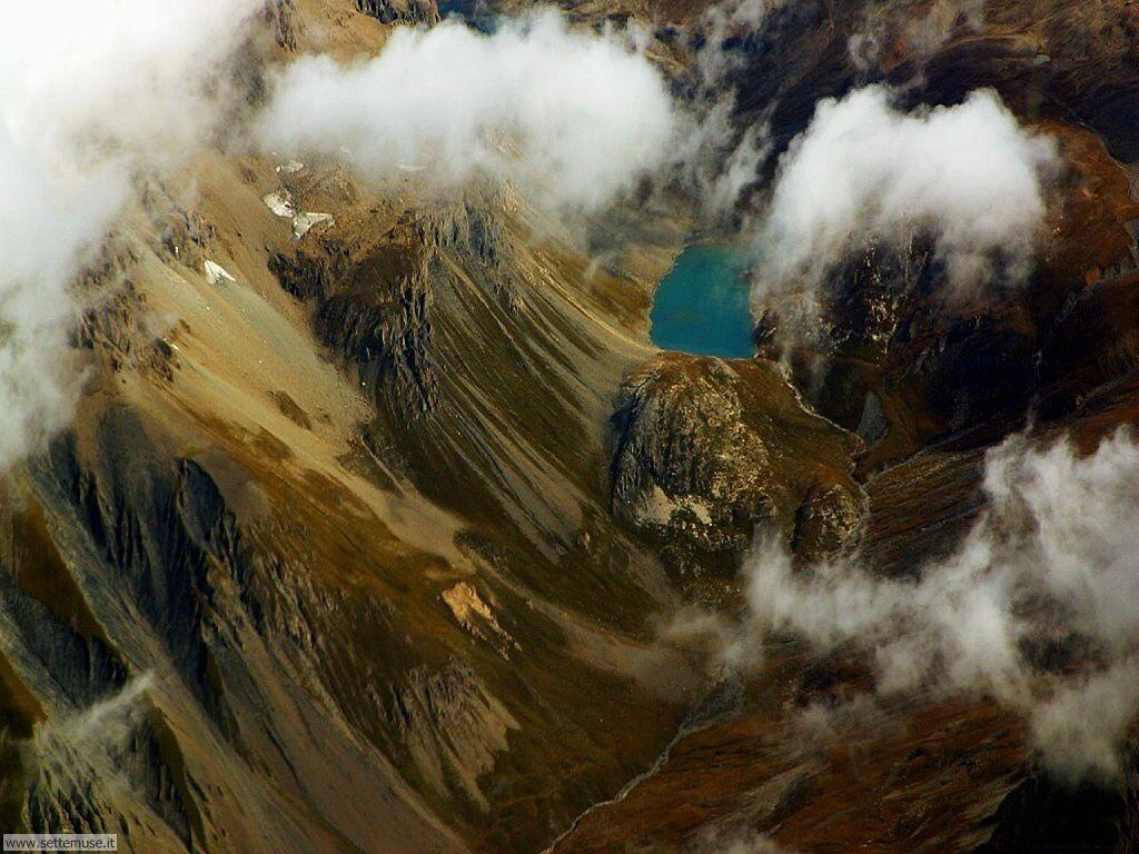 Foto desktop di panorami dall'aereo 009
