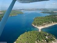 Foto desktop di panorami dall'aereo
