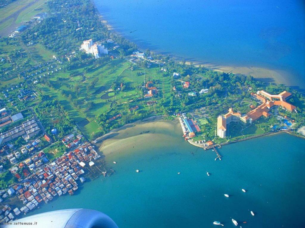 Foto desktop di panorami dall'aereo 014