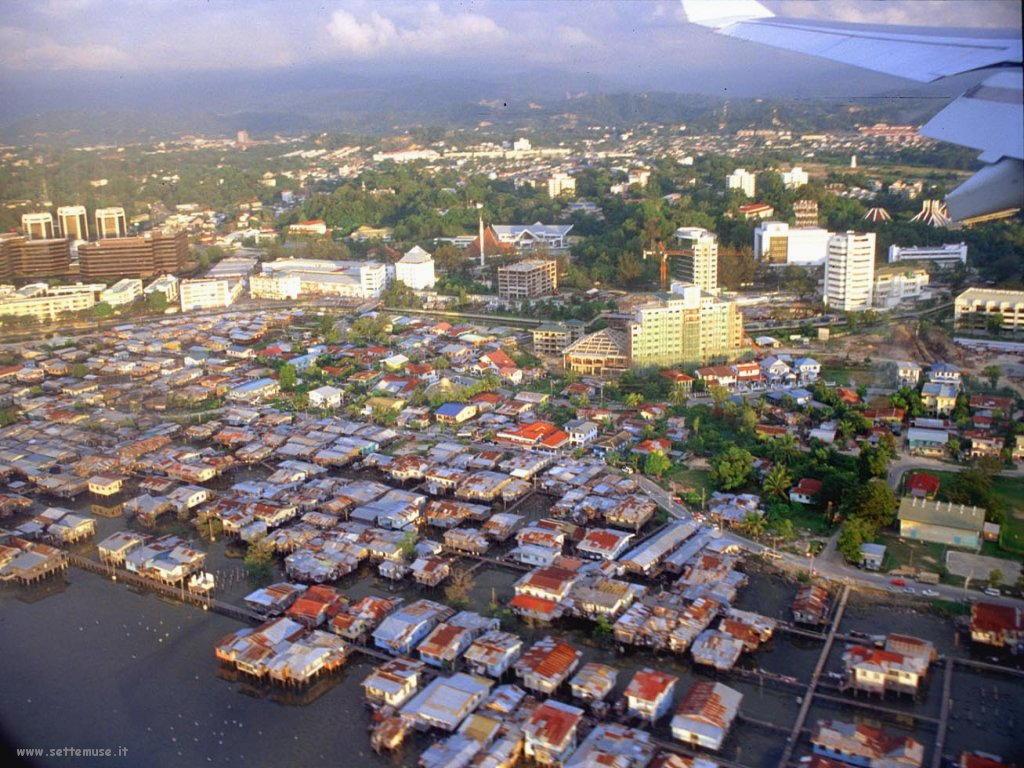 Foto desktop di panorami dall'aereo 015