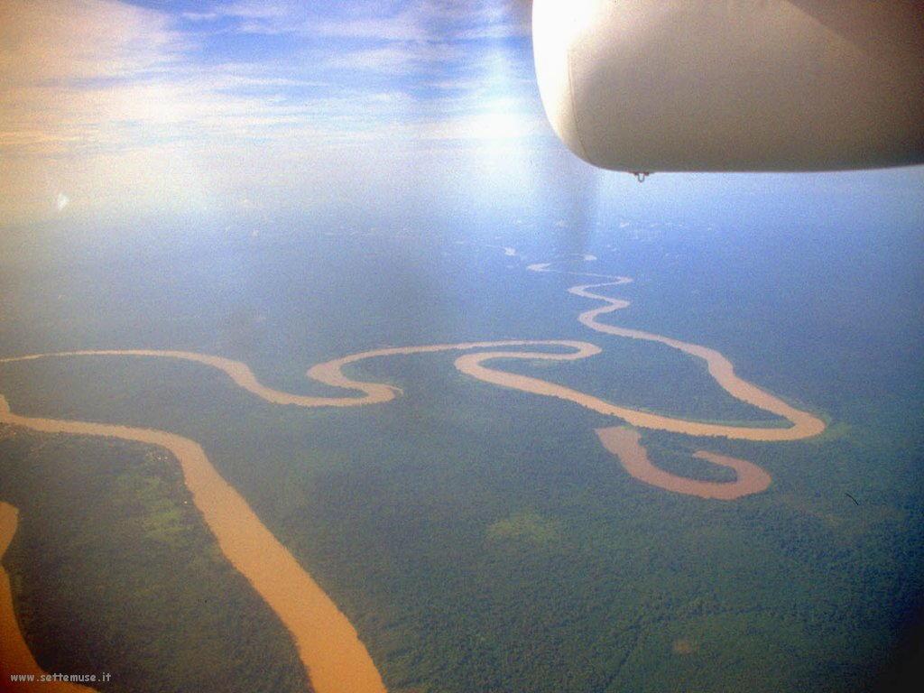 Foto desktop di panorami dall'aereo 016