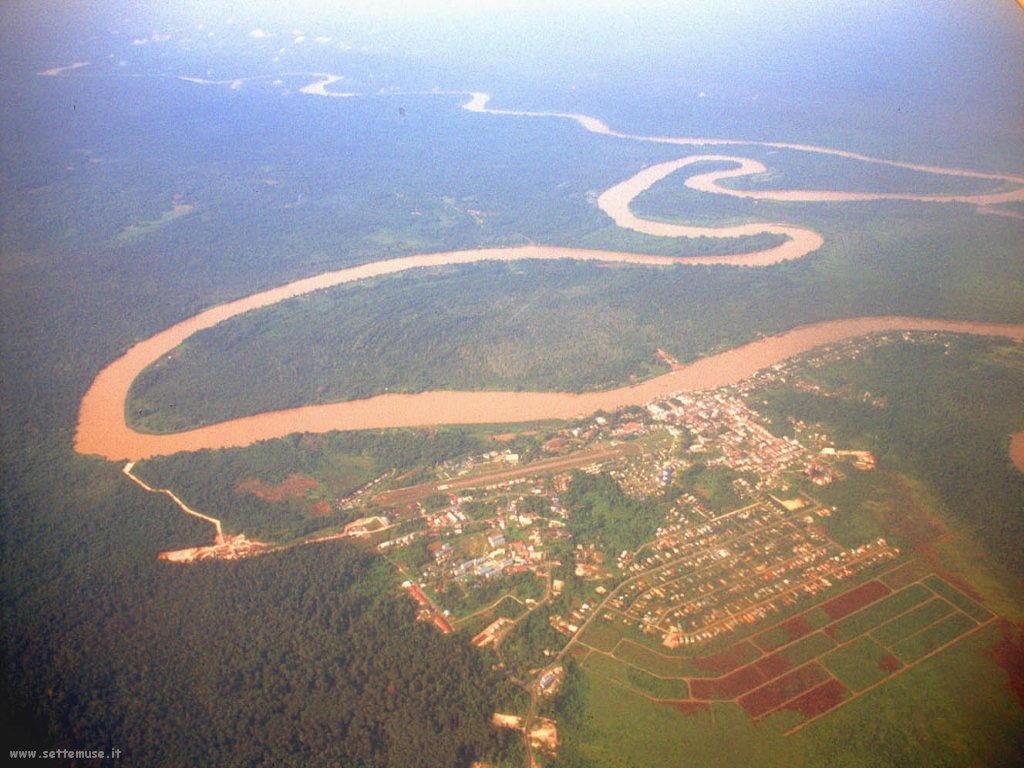 Foto desktop di panorami dall'aereo 017