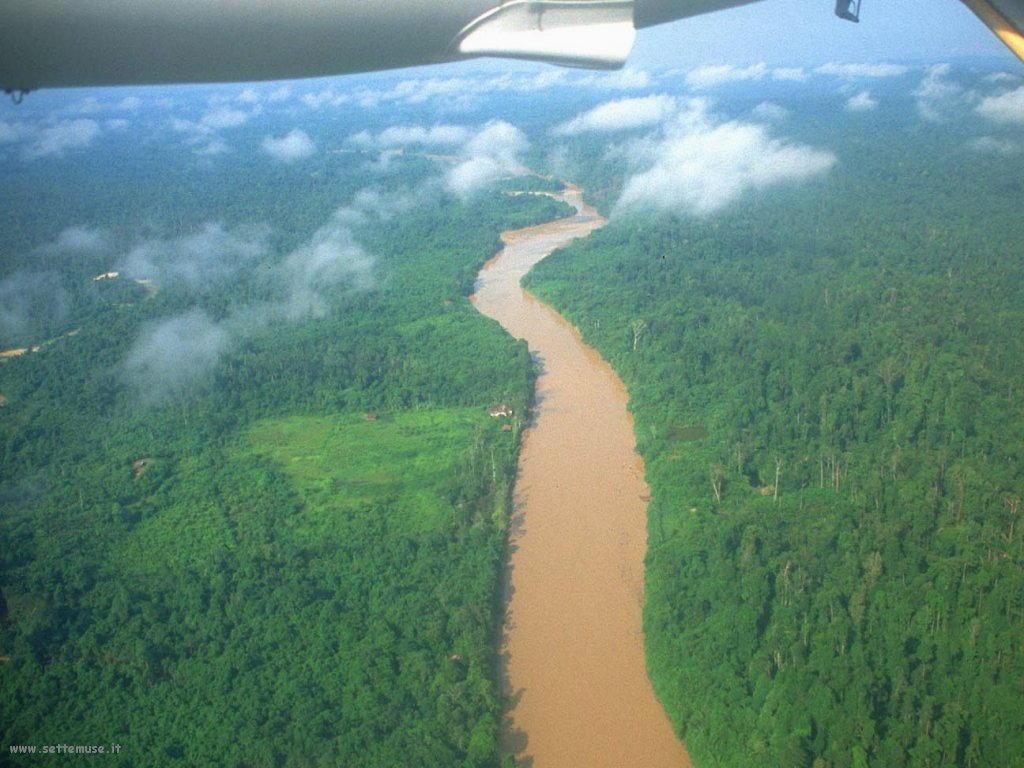 Foto desktop di panorami dall'aereo 018