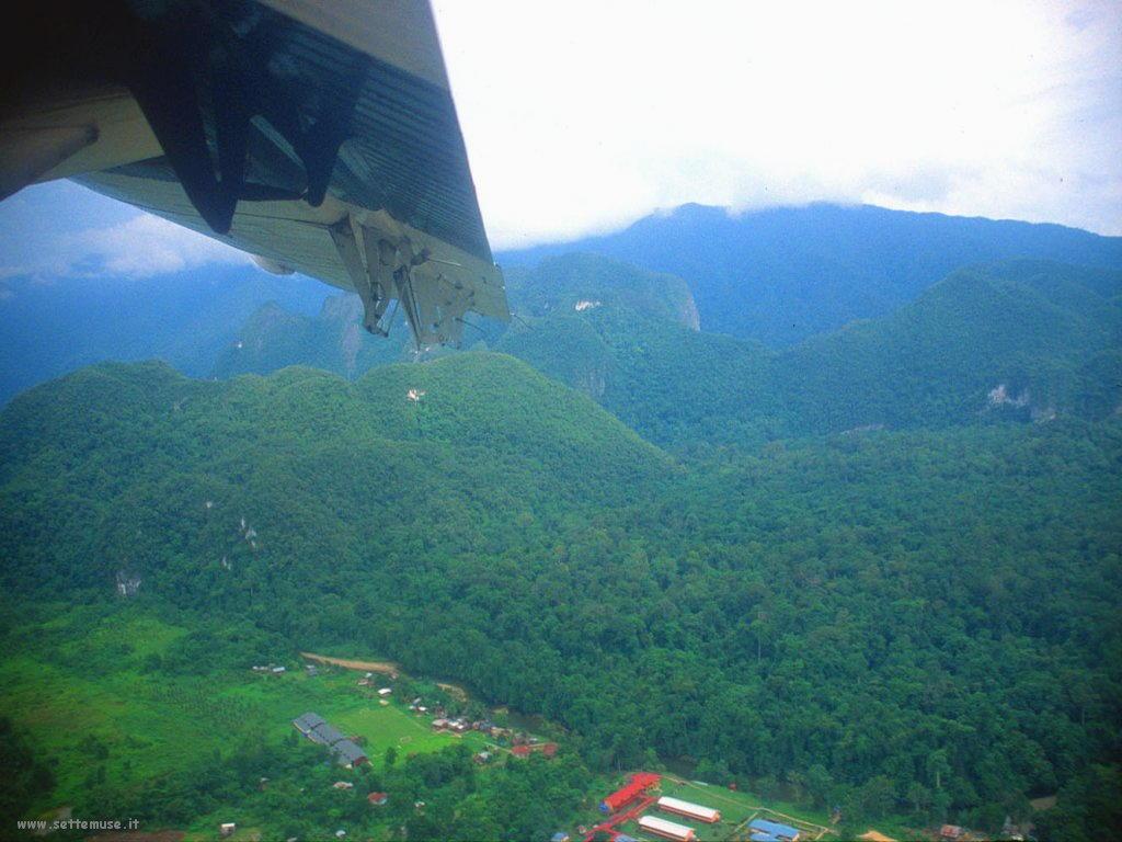 Foto desktop di panorami dall'aereo 019