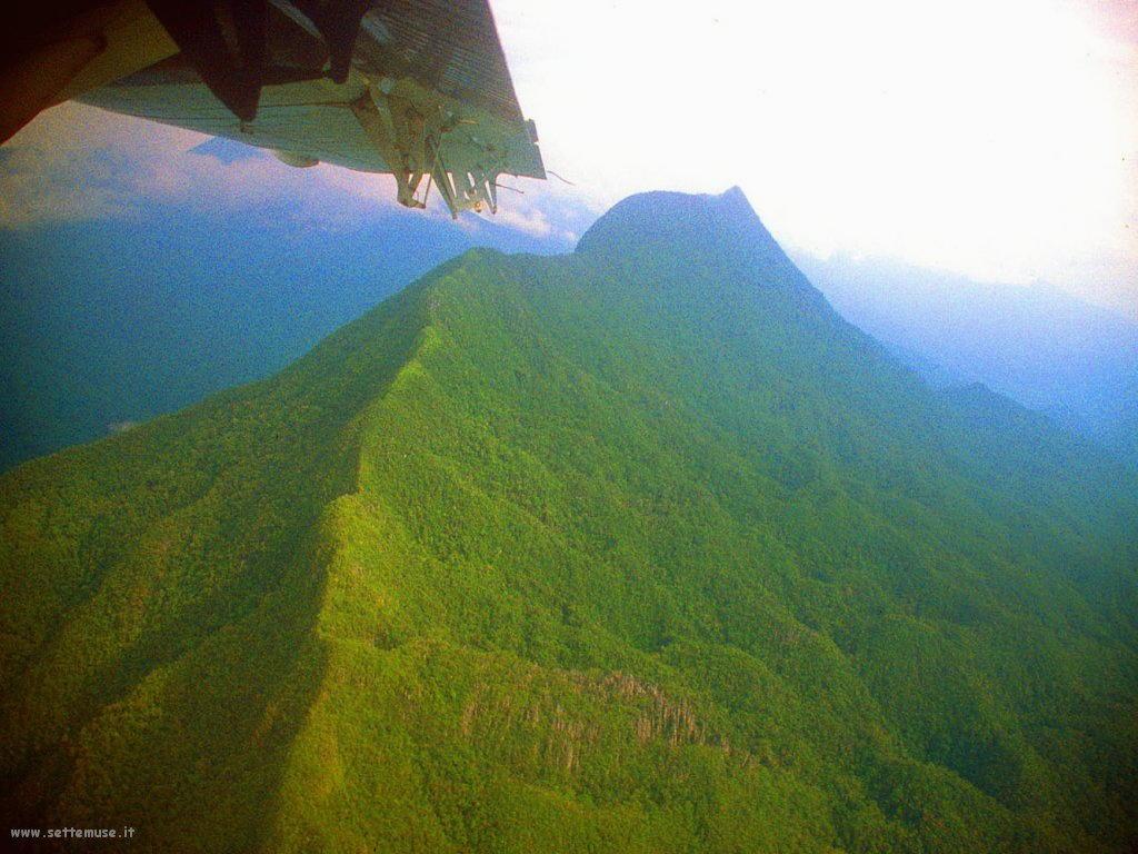Foto desktop di panorami dall'aereo 020