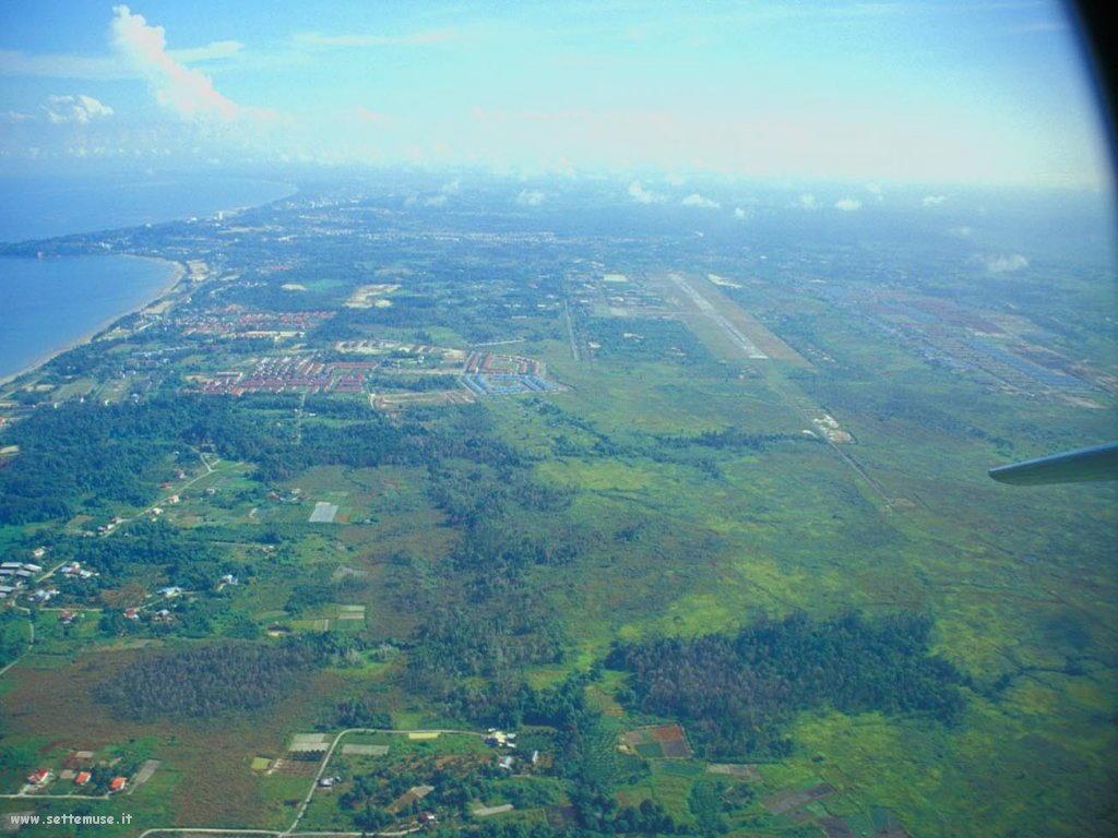 Foto desktop di panorami dall'aereo 023