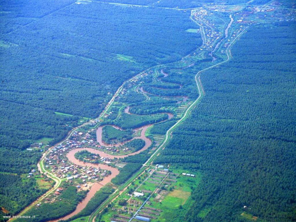 Foto desktop di panorami dall'aereo 024