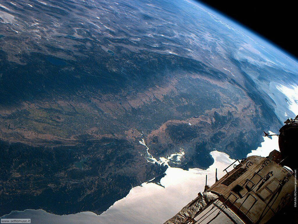 Immagini del pianeta Terra visto dallo spazio 010