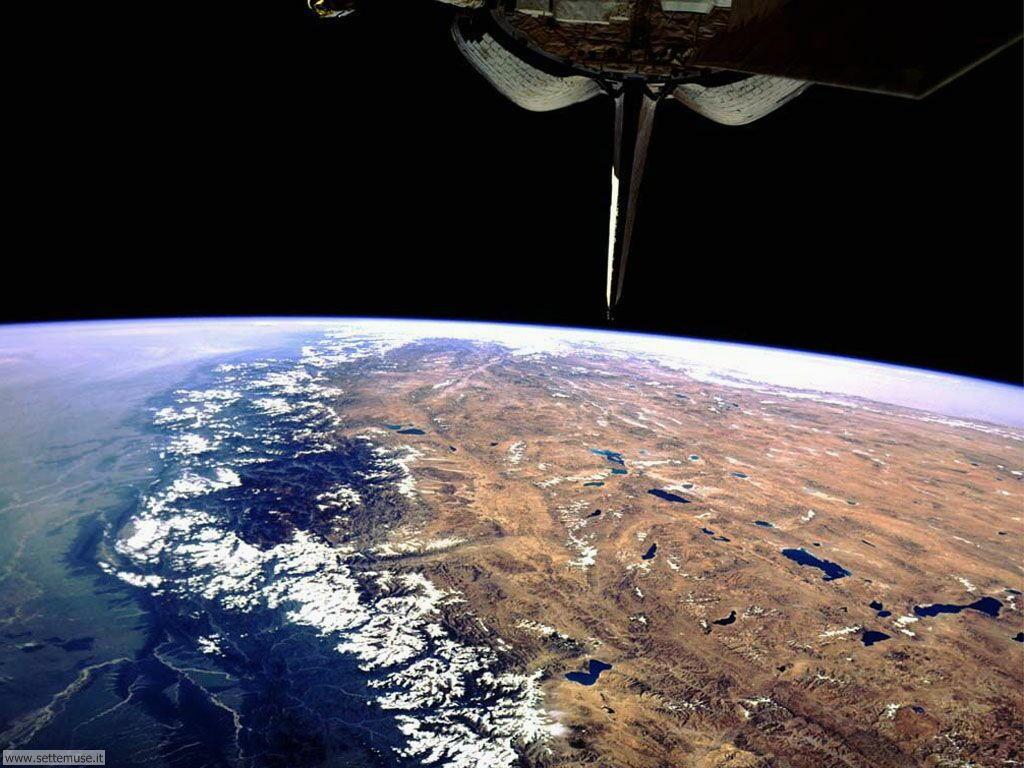 Immagini del pianeta Terra visto dallo spazio 012