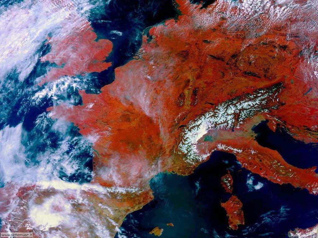 Immagini del pianeta Terra visto dallo spazio 013
