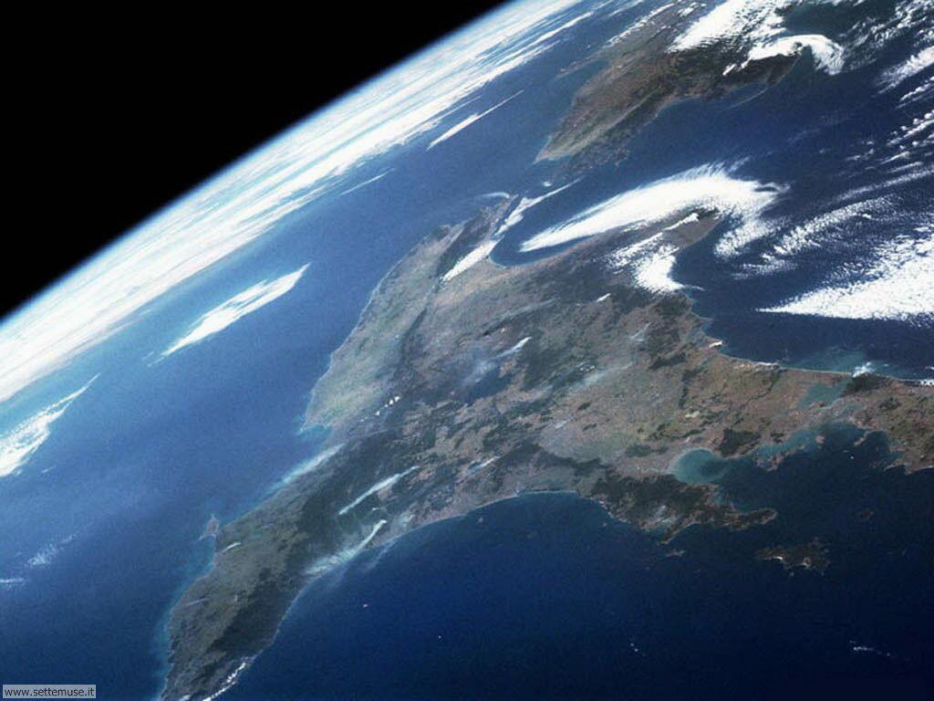 Foto pianeta terra per sfondi desktop for Foto fond ecran