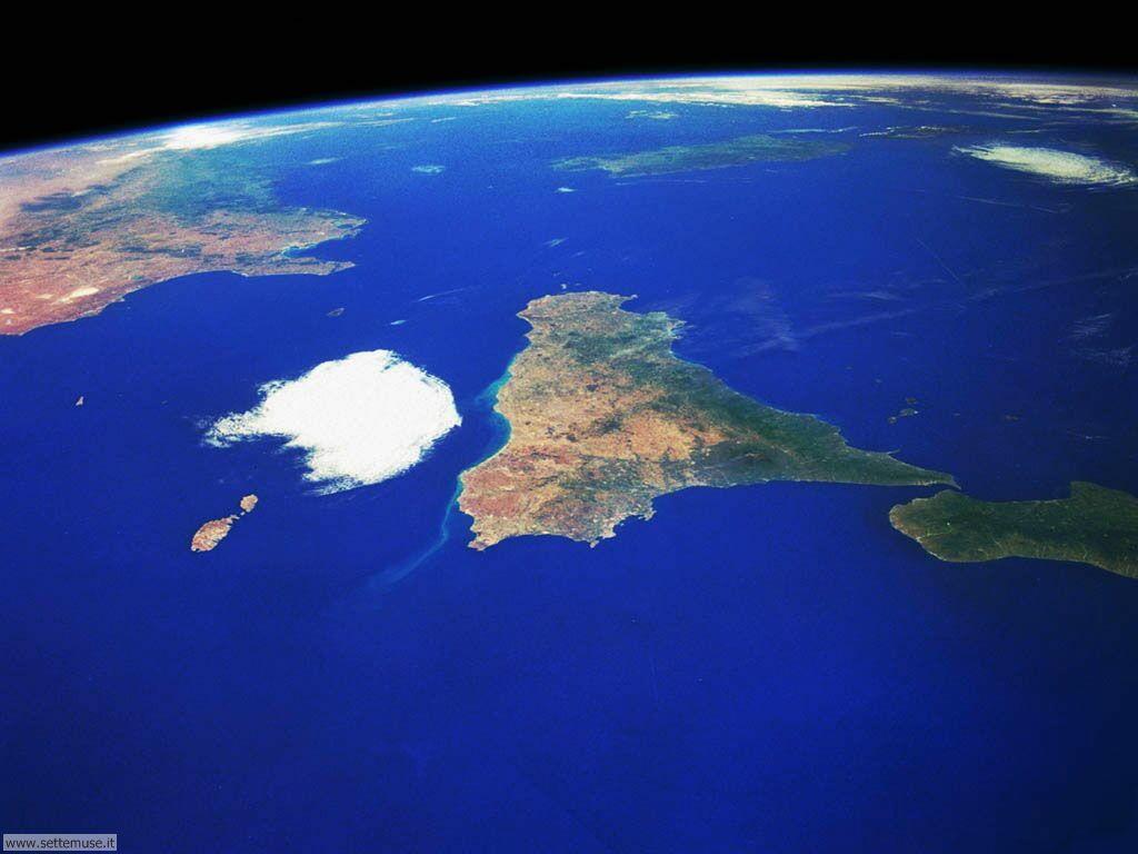 Immagini del pianeta Terra visto dallo spazio 029
