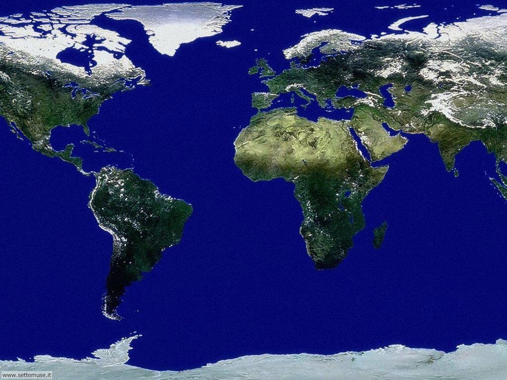 Immagini del pianeta Terra visto dallo spazio 032