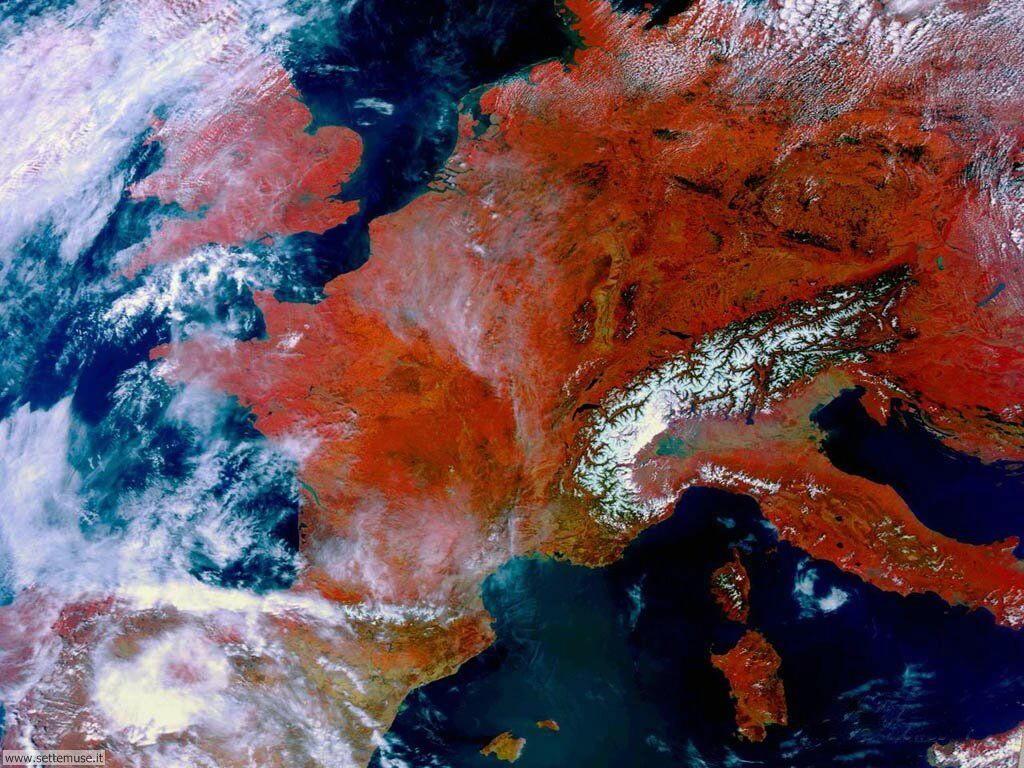 Immagini del pianeta Terra visto dallo spazio 035