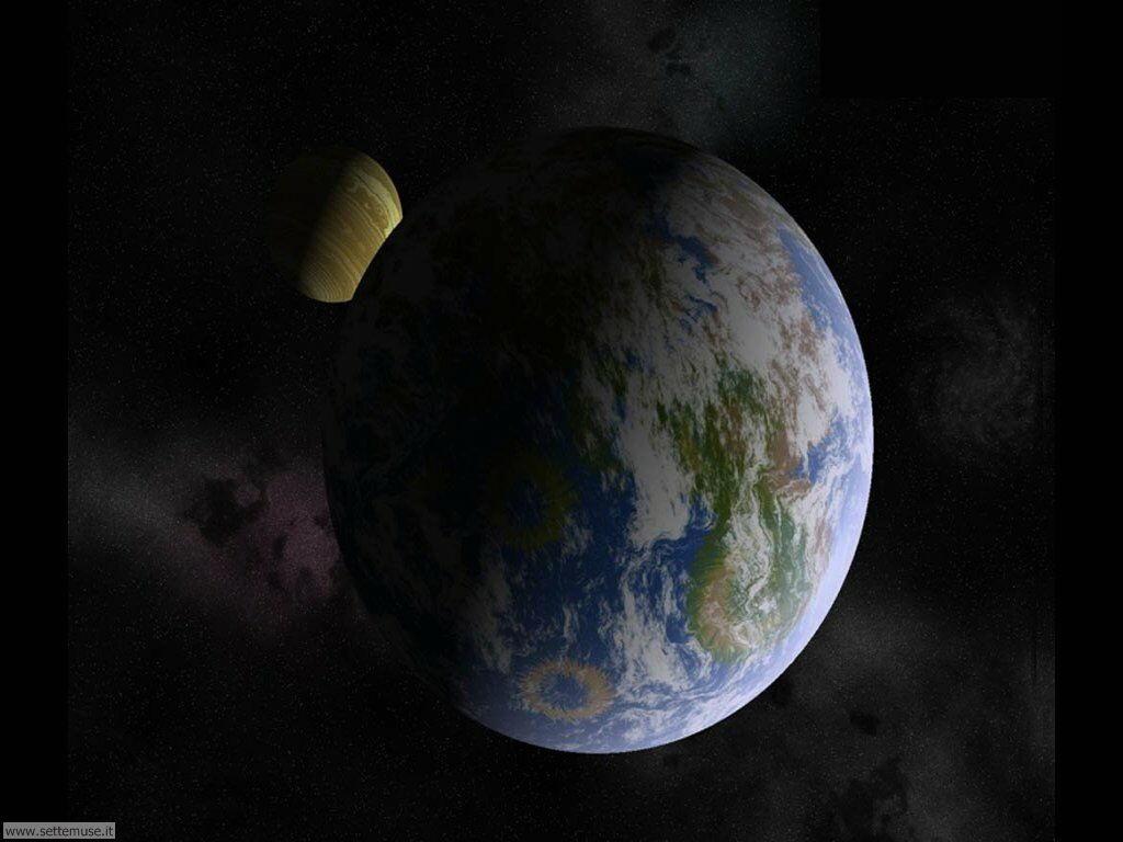 Immagini del pianeta Terra visto dallo spazio 036