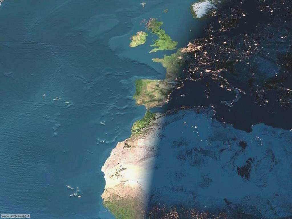 Immagini del pianeta Terra visto dallo spazio 037