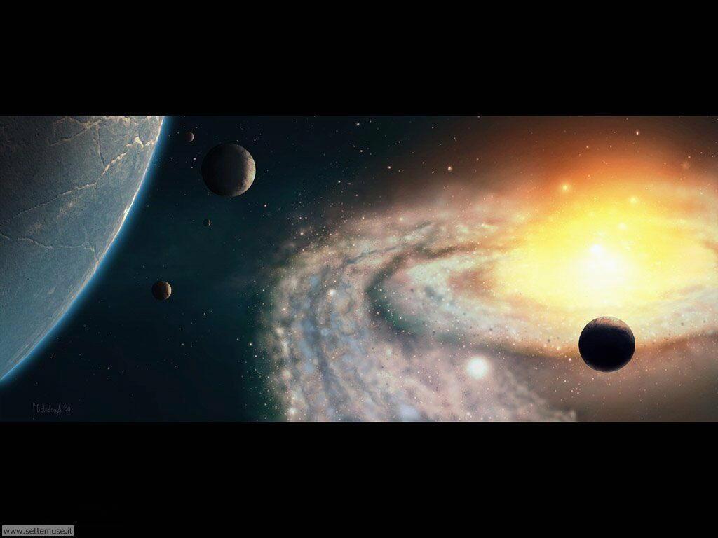 Foto sistema solare per sfondi desktop for Immagini sole da colorare