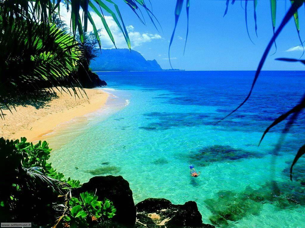 Foto spiagge per sfondi desktop for Foto per desktop mare