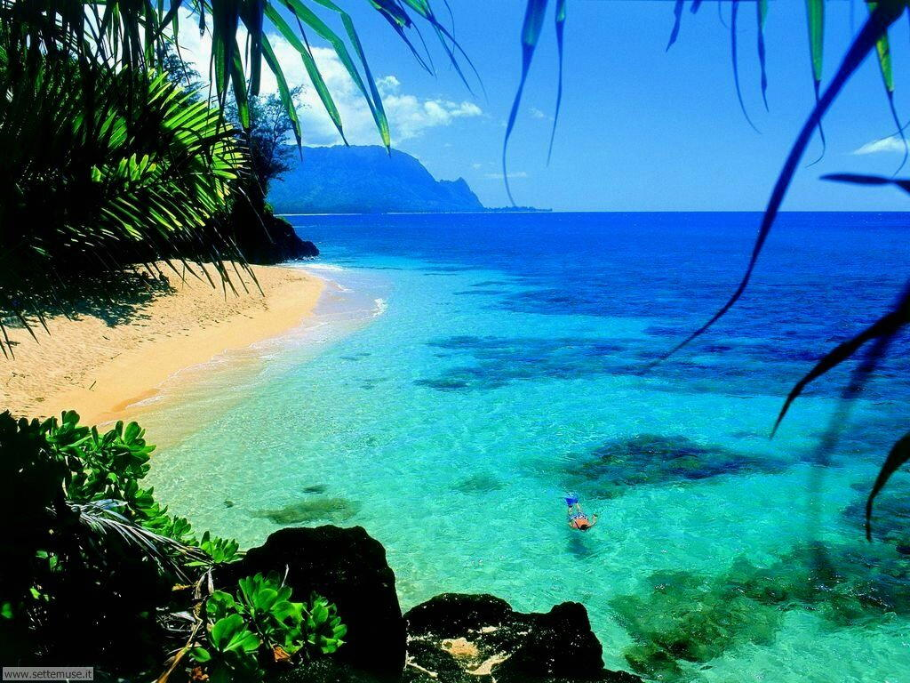 Foto spiagge per sfondi desktop for Paesaggi bellissimi per desktop