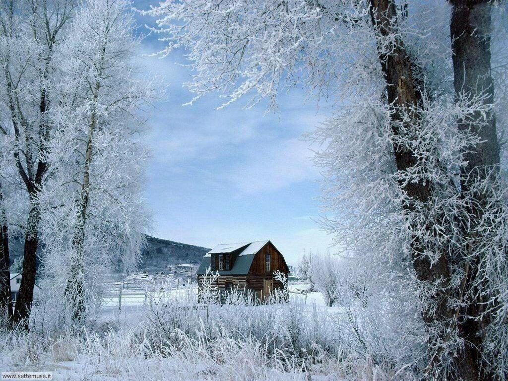Foto inverno per sfondi desktop for Paesaggi invernali per desktop