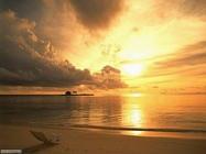 Foto desktop di albe e tramonti