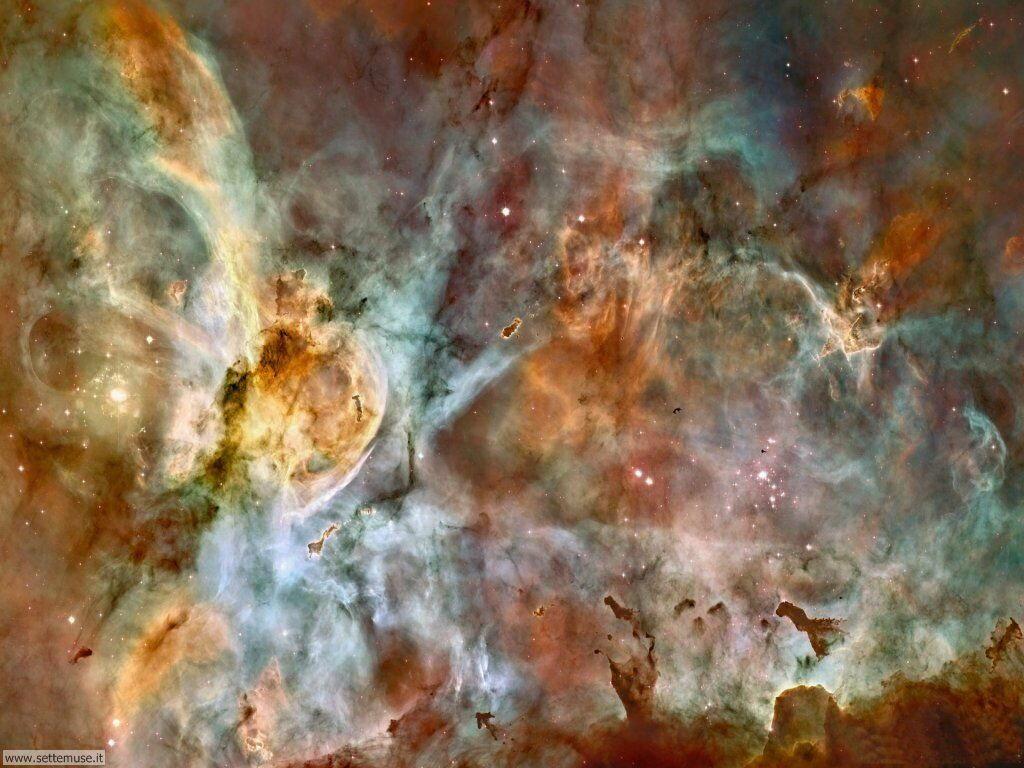 Foto desktop dell'Universo, galassie, nebulose 002