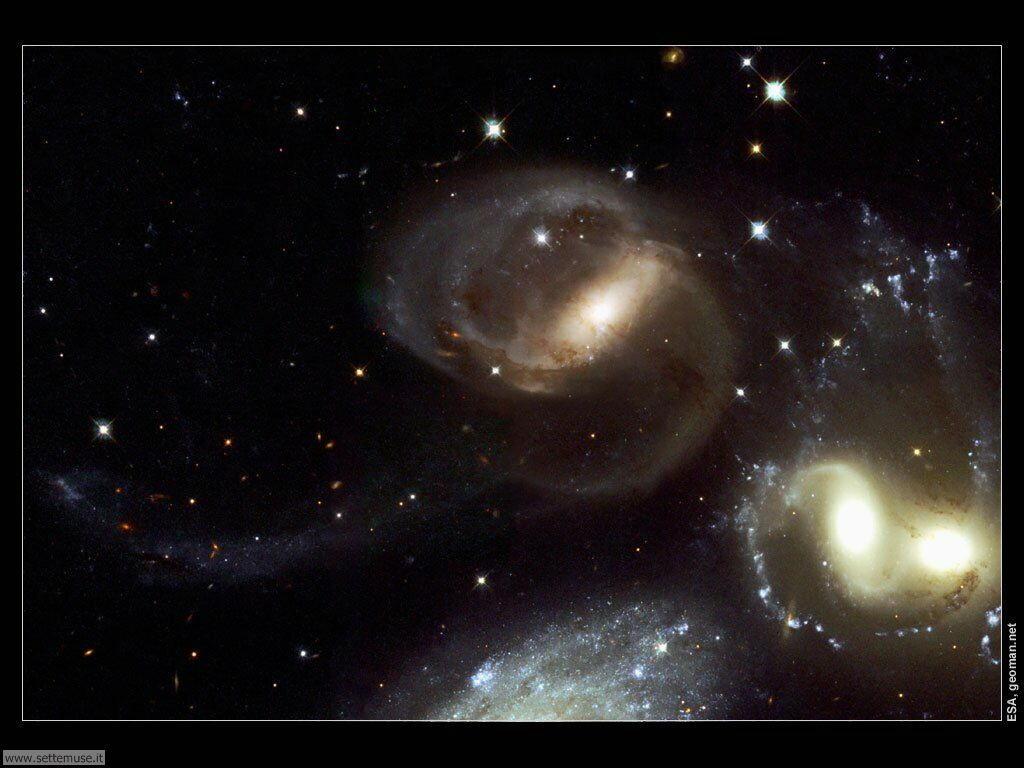 Foto desktop dell'Universo, galassie, nebulose 008
