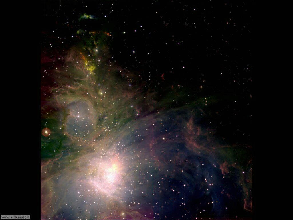 Foto desktop dell'Universo, galassie, nebulose 028