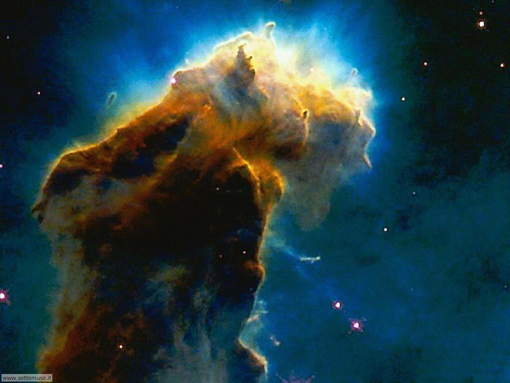 Foto desktop dell'Universo, galassie, nebulose 030