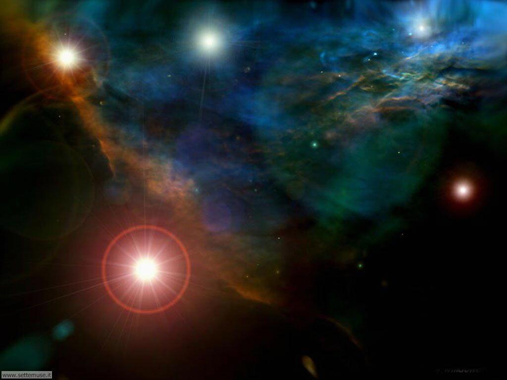 Foto desktop dell'Universo, galassie, nebulose 031