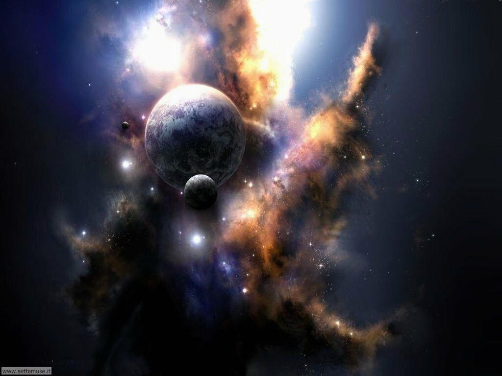 Foto Universo Galassie Nebulose Ammassi Per Sfondi Desktop