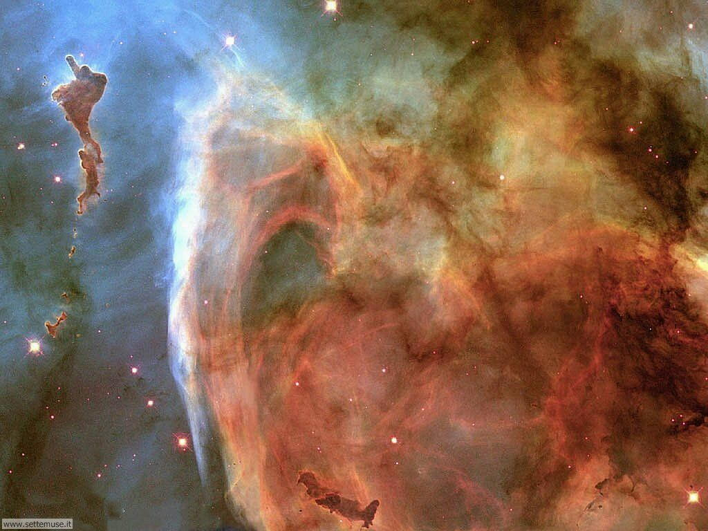 Foto desktop dell'Universo, galassie, nebulose 034