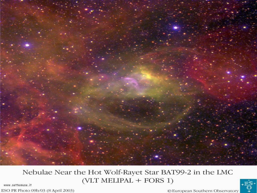 Foto desktop dell'Universo, galassie, nebulose 036