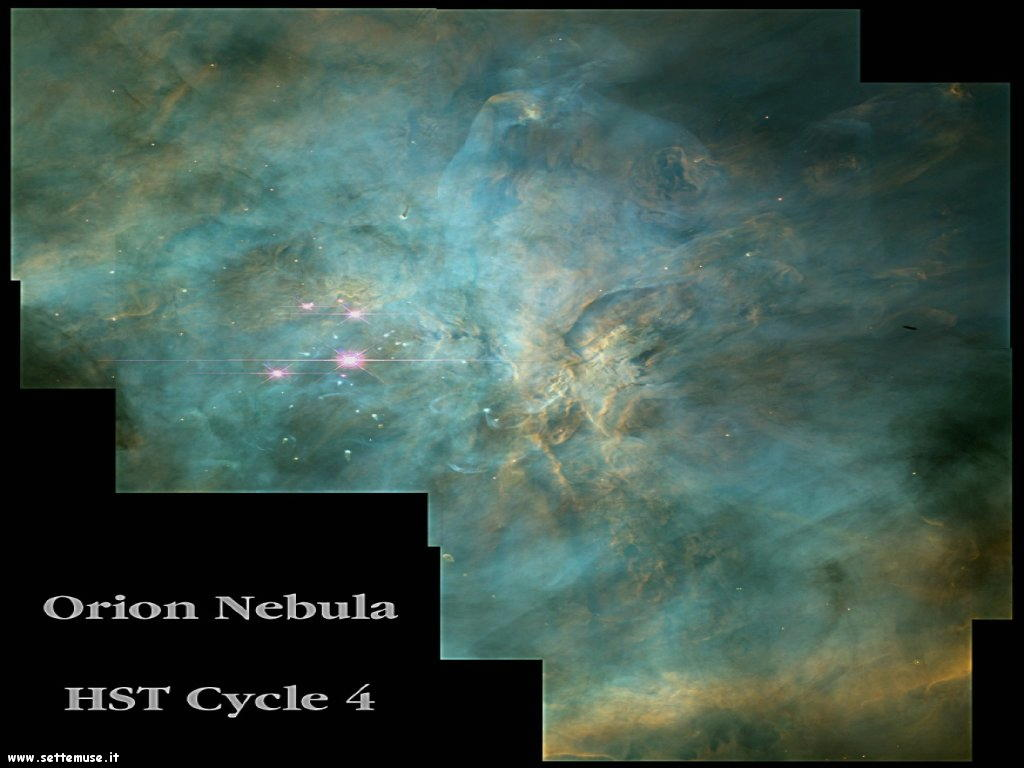 Foto desktop dell'Universo, galassie, nebulose 043