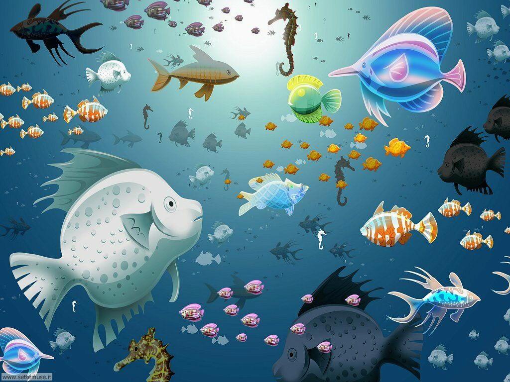 foto di acquari per sfondi