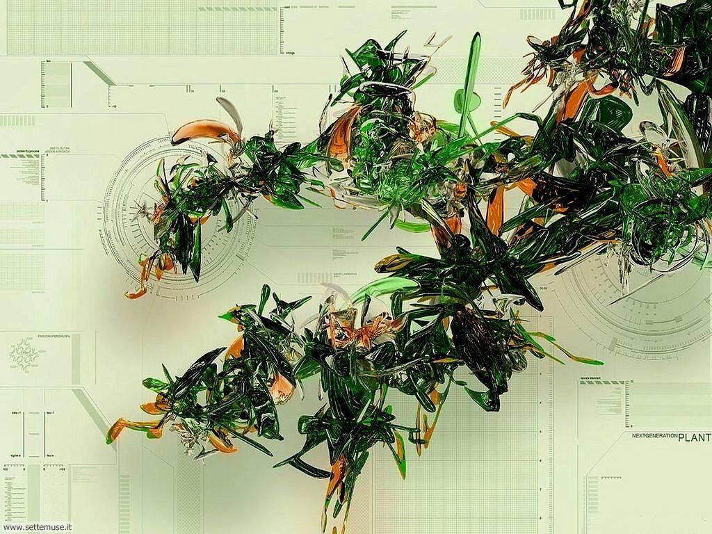 Foto Digital Art 076 DNA alieno