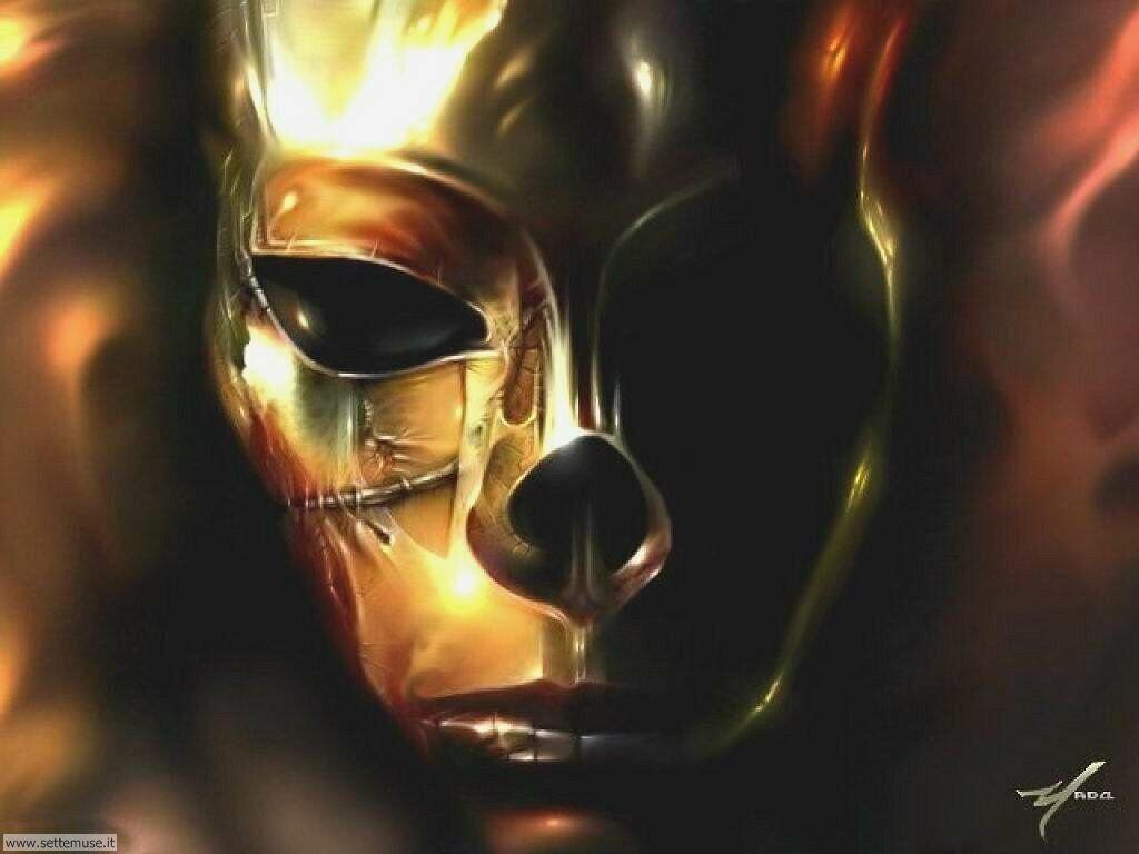 Foto Digital Art 084 Maschera di ferro