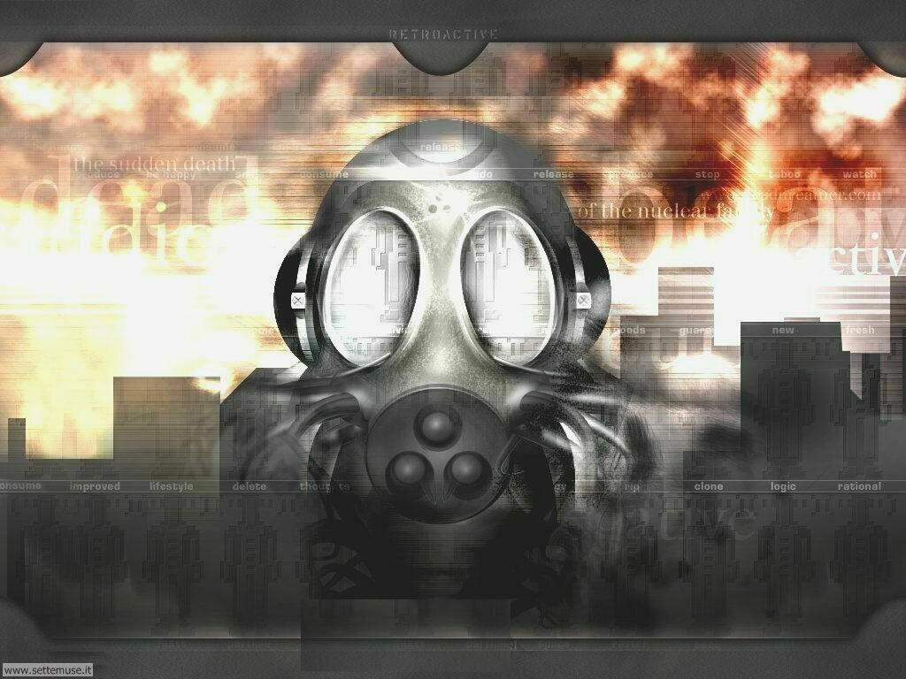Foto Digital Art 087 Gas mask