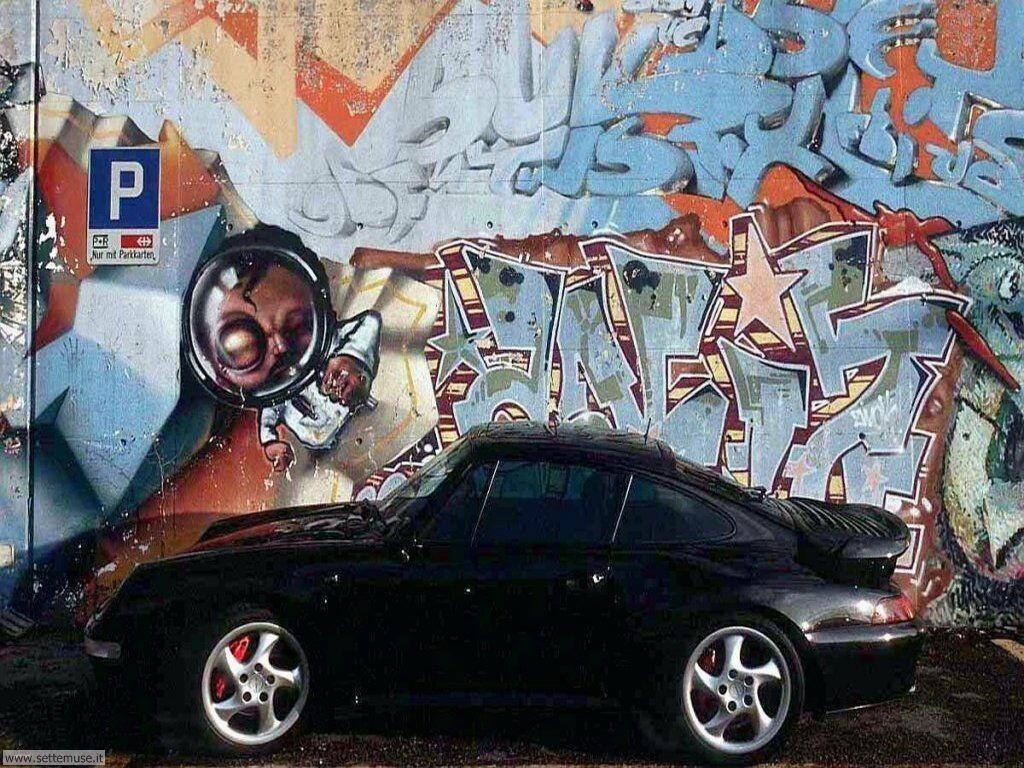 foto di graffiti e murales per sfondi