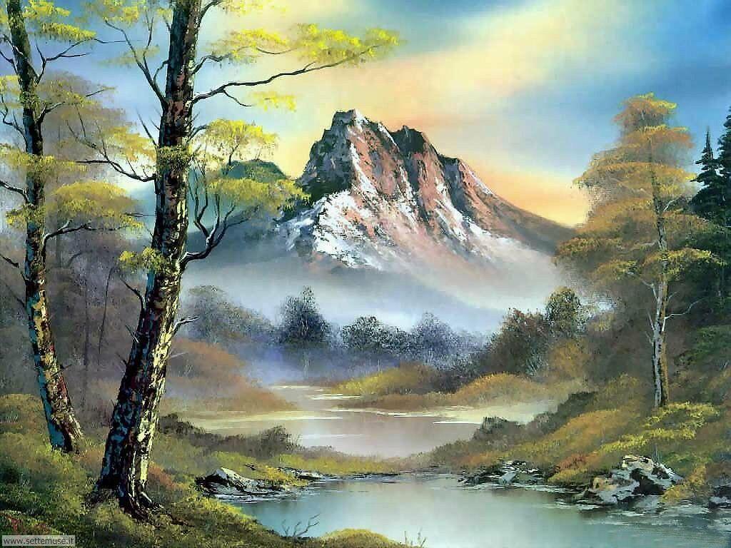 Foto paesaggi dipinti per sfondi for Paesaggi per sfondi