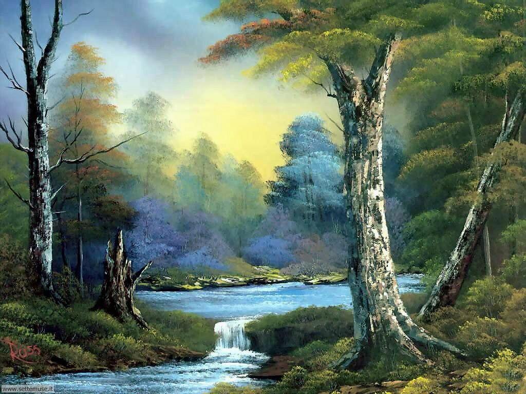 Foto paesaggi dipinti per sfondi for Foto paesaggi naturali gratis